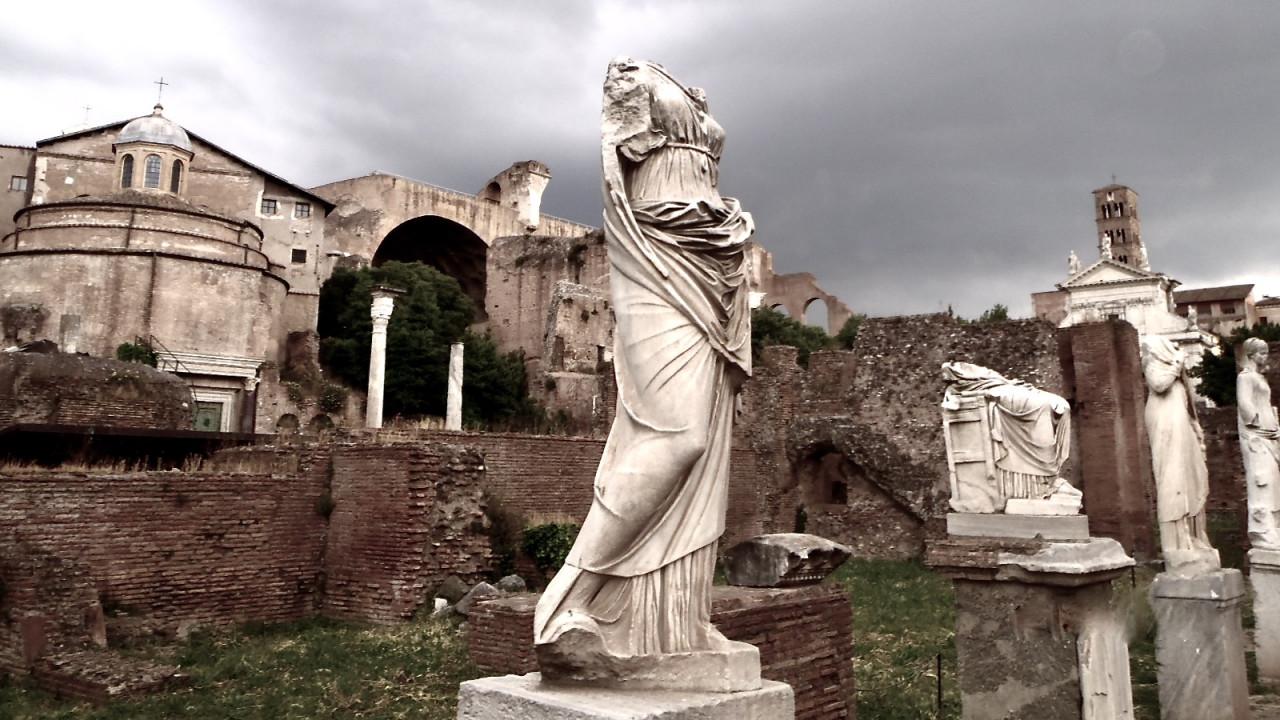 Rzym w 5 dni - zwiedzanie z dziećmi, największe atrakcje Wiecznego Miasta. Część II - Forum Romanum.