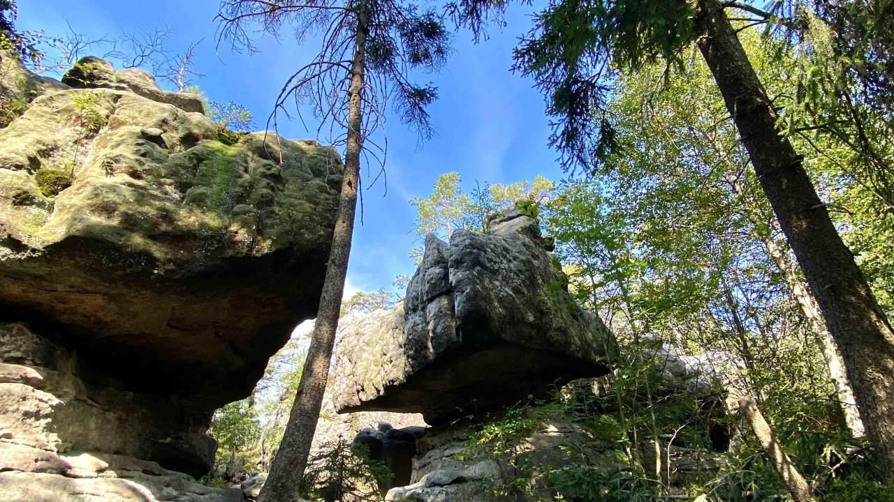 Góry Stołowe: Błędne Skały