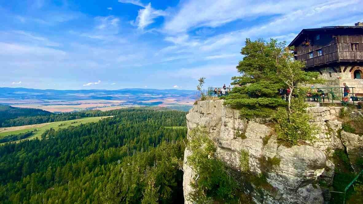 Góry Stołowe: Szczeliniec Wielki